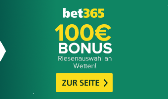 Bet365 Bonus 100€