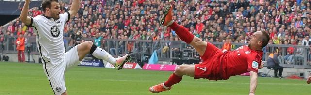 Bayern siegt auch gegen Frankfurt – Eintracht weiter im Abstiegskampf