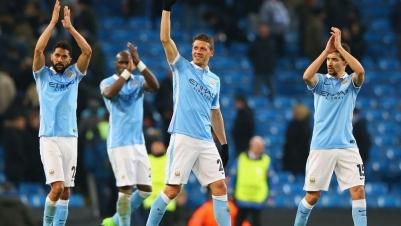 CL: Manchester City zieht erstmals ins Halbfinale ein