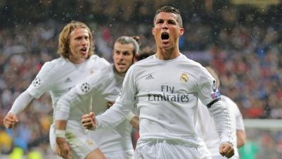 CL: Ronaldo schießt Wolfsburg ab und Real ins Halbfinale