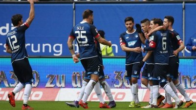 Hoffenheim macht weiteren Schritt im Abstiegskampf